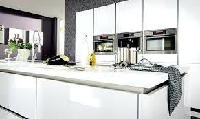cuisine blanc mat sans poign cuisine blanche sans poignee plan de travail cuisine 50 idaces de