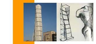 santiago calatrava building compared to a torso