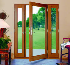 Patio Doors Manufacturers Three Panel Glass Doors With Side Panels That Open Vented