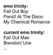 Trinity Meme - some memes emo trinity amino