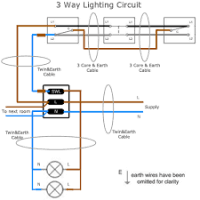 wiring light switch ring main yondo tech