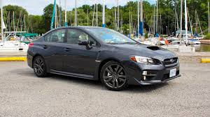 2017 subaru impreza sedan sport 2017 subaru wrx sport tech cvt test drive review