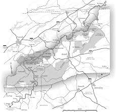 Raleigh Nc Map Appalachian Trail Ncpedia