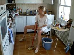 küche putzen mop unordnung menschen view fotocommunity