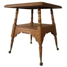vintage square coffee table products side tables