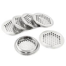 bouche aeration cuisine cuisine bouche d aération grille d aération 65mm diamètre en acier