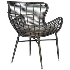 Palecek Chairs Palecek Palermo Indoor Outdoor Espresso Chair