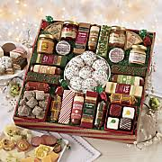cheese baskets meat cheese gift boxes swiss colony