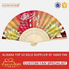 custom fans custom made craft custom printed folding fan with your design