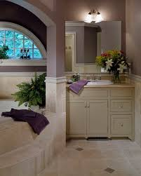 travertine tile bathroom bathroom traditional with arched window