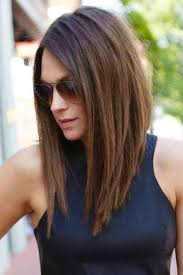 trendy looks straight medium simple stylish haircut