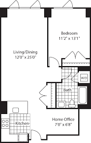 River City Phase 1 Floor Plans by Third Square Apartments Kendall Square Cambridge 285 Third