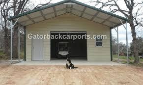Garage With Carport Gatorback Carports U2013 Combo Units Carports With Storage