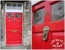Red Front Doors 15 Fantastic Front Doors Burlap U0026 Denimburlap U0026 Denim