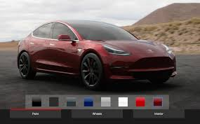 fan made tesla model 3 design studio lets you design the car