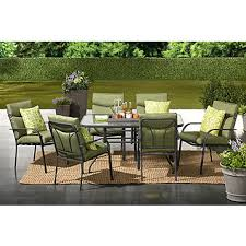 7pc Patio Dining Set Fingerhut Alcove Fisher Island 7 Pc Patio Dining Set