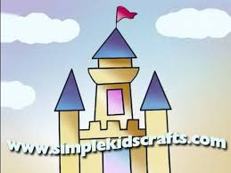 28 easy house drawing simple drawing of house how to draw a simple castle youtube drawing pinterest