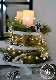 Christmas Table Decoration Ideas On A Budget by 34 Creative Christmas Centerpieces Diy Christmas Centerpieces