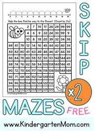 Skip Count By 2s Hundreds Chart Counting By Twos Number Maze Worksheet Maze Worksheets And Count