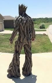 groot costume groot back wonderful costume made by calen hoffman will