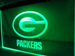 green bay packers lights ld042 green bay packers bar nr led neon light sign in plaques