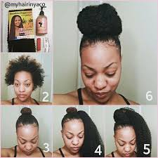 natural hair bun styles with bang bun with marley braiding hair hair tips hair care pinterest