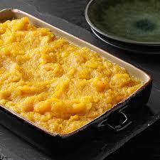 butternut squash casserole recipe taste of home