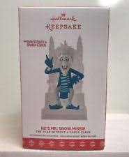 hallmark 2017 mr snow miser year without santa claus he ornament