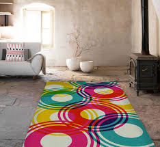 Affordable Area Rugs by Modern Rug Colorful Circles Rugs Affordable Area Rugs Accent