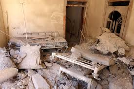 siege adp aleppo siege bombs hit hospital in rebel held syrian city