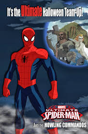 caution idiot at play ultimate spider man halloween special