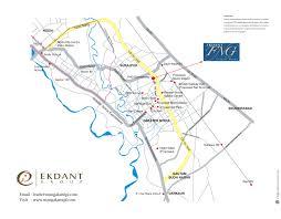 Noida Metro Route Map by Ekdant Fng Sarthak Estates