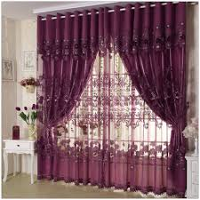 quality flower purple curtain fashion modern brief sheer curtain
