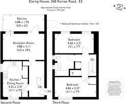 Roman Floor Plan by 2 Bedroom Maisonette For Sale In Roman Road E3 E3