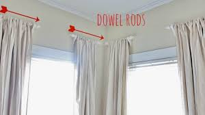 Ideas For Hanging Curtain Rod Design Curtains Hanging Curtain Rods Ideas Best 25 Hanging Curtains On