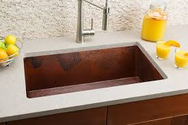 Large Single Bowl Kitchen Sink by Hahn Copper Large Single Bowl Sink