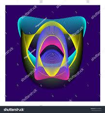 vibrant wallpaper colorful vibrant wallpaper background dynamic flux stock vector