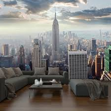 Large Wall Murals Wallpaper by New York Scenes Wallpaper Wallpapersafari