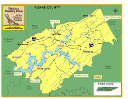 Eastern Tennessee Map by Roane County Tennessee Century Farms