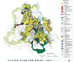 Urban Map From 1807 To 2021 The Evolution Of Delhi In Six Maps