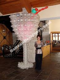 15 best champagne balloon sculpture images on pinterest martinis