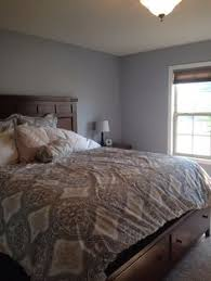 lazy gray paint color sherwin williams master bedroom for the