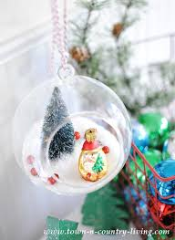 diy hanging snow globe ornaments rizzo