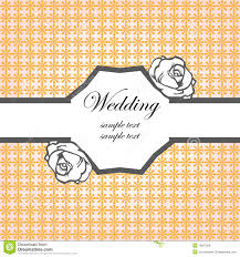 Wedding Cards Invitation Templates Wedding Card Invitation Template Royalty Free Stock Image Image