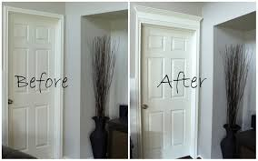 Interior Molding Designs by Making Your Doors Pretty With Molding And A How To Decorchick