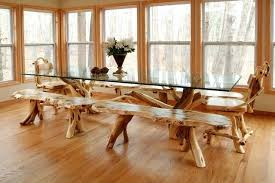 tree trunk dining table tree dining table charming tree trunk dining table and chairs