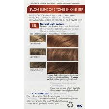 clairol nice n easy natural light auburn clairol nice n easy 6r natural light auburn each woolworths