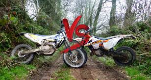 enduro shootout ktm exc300 vs husqvarna fe350 ride expeditions