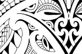 armband legband in mixed polynesian and maori style seamless