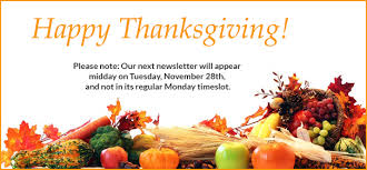 wbais monday newsletter november 20 2017